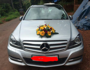 Benze for Wedding in Kannur
